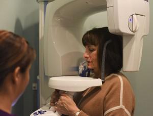Digital x-ray scan